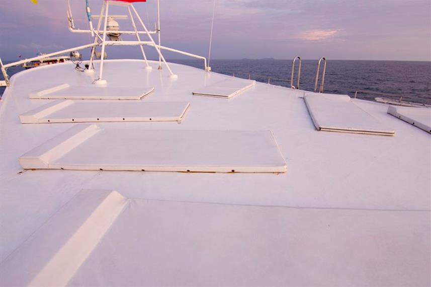 Sun Deck on Giamani Liveaboard
