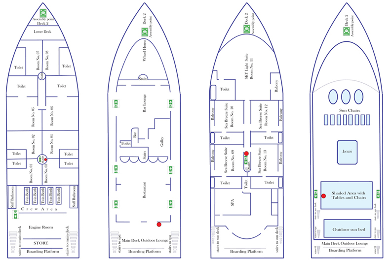 Maldive Mosaique floorplan