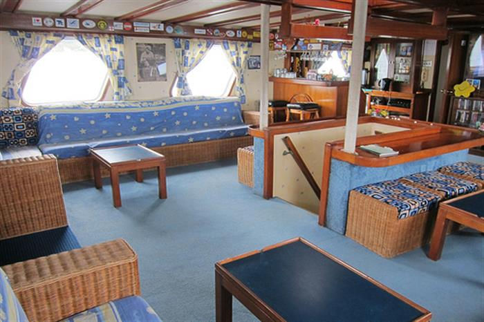 Lounge Area - Thorfinn Liveaboard