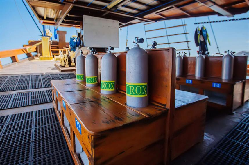 Dive deck - Sea Safari VII