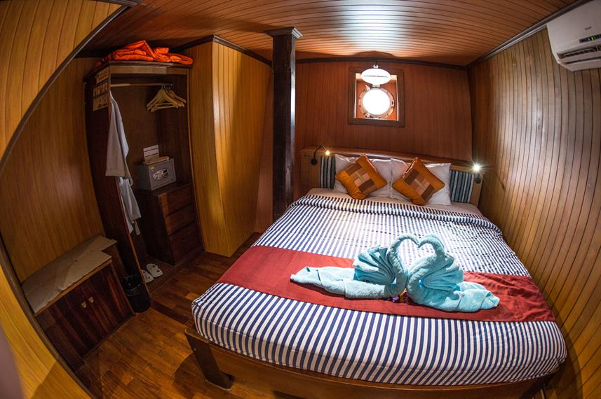 Lower Deck Cabin - Sea Safari VII