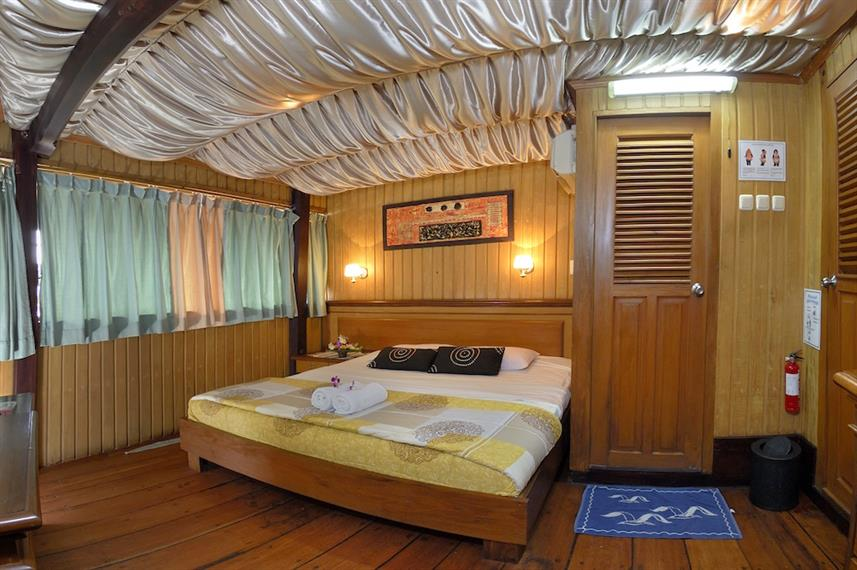 Upper Deck Double Cabin - Sea Safari VII Indonesia