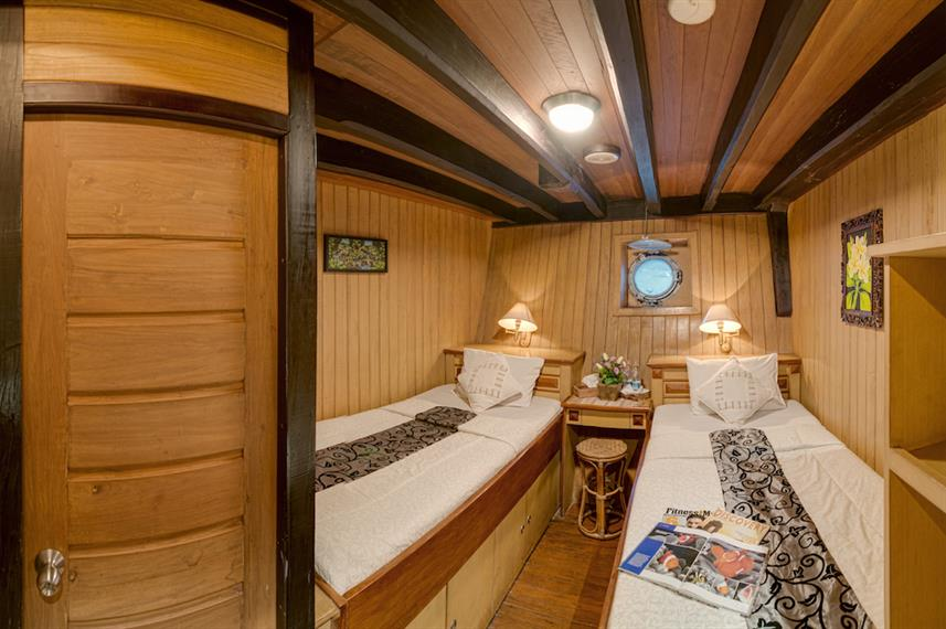 Lower twin cabin - Sea Safari 8