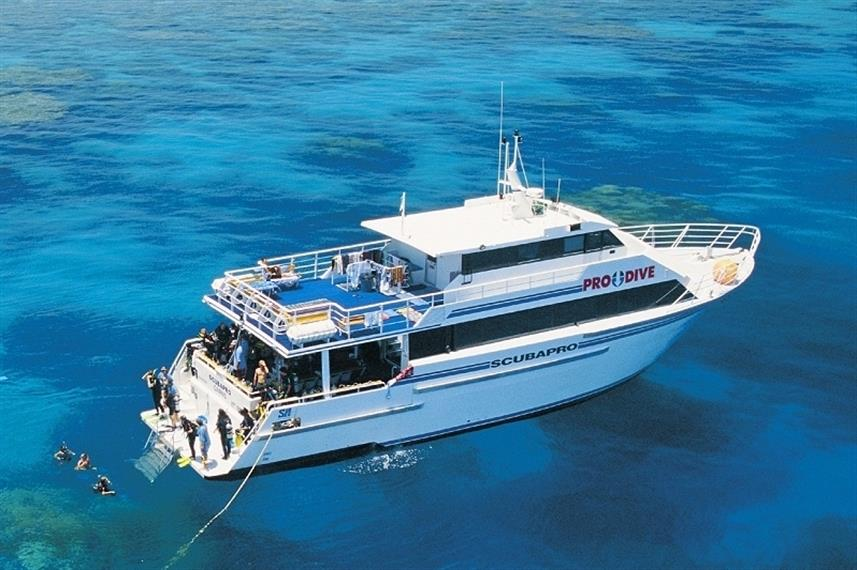 ScubaPro II Liveaboard, Great Barrier Reef, Australia
