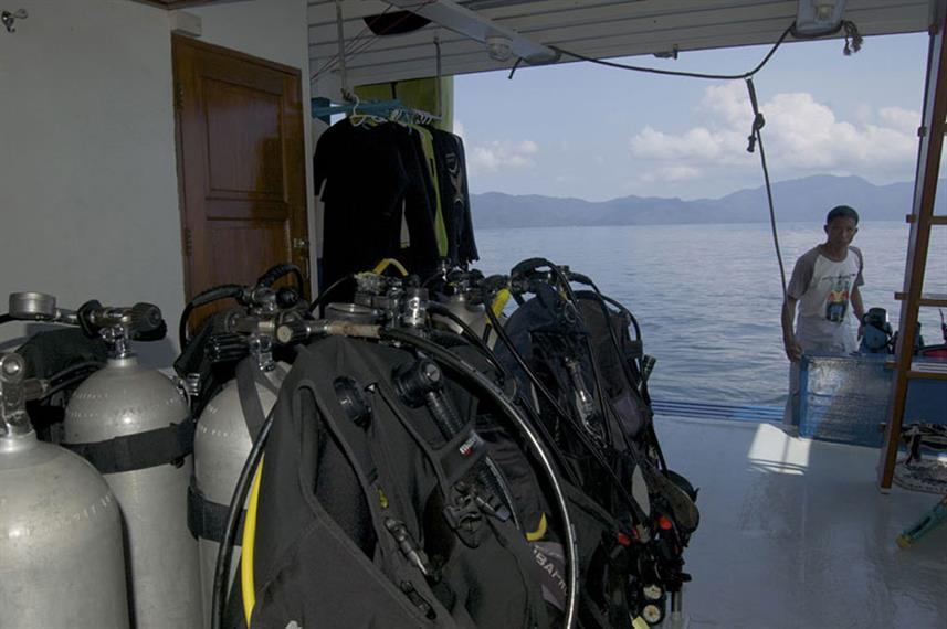 Duikdek - Thai Sea Liveaboard