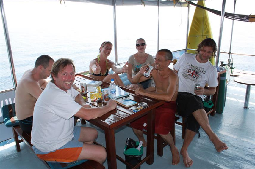 Buitenrestaurant - Thai Sea Liveaboard
