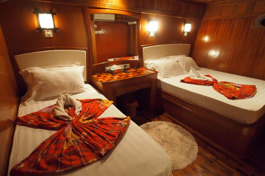 Fun Azul - Deluxe Twin Cabin