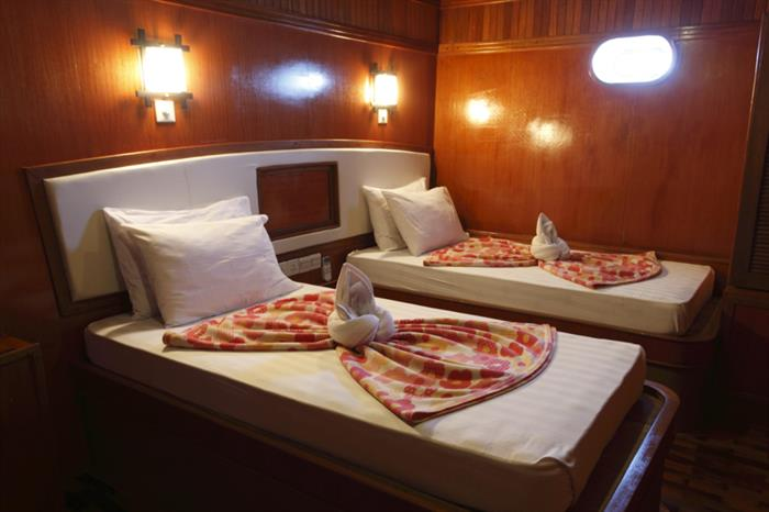 Deluxe Twin Cabin - Fun Azul