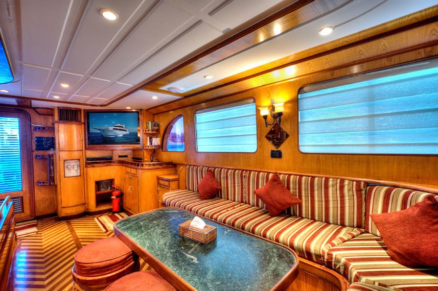 Lounge - Golden Dolphin Egypt Liveaboard