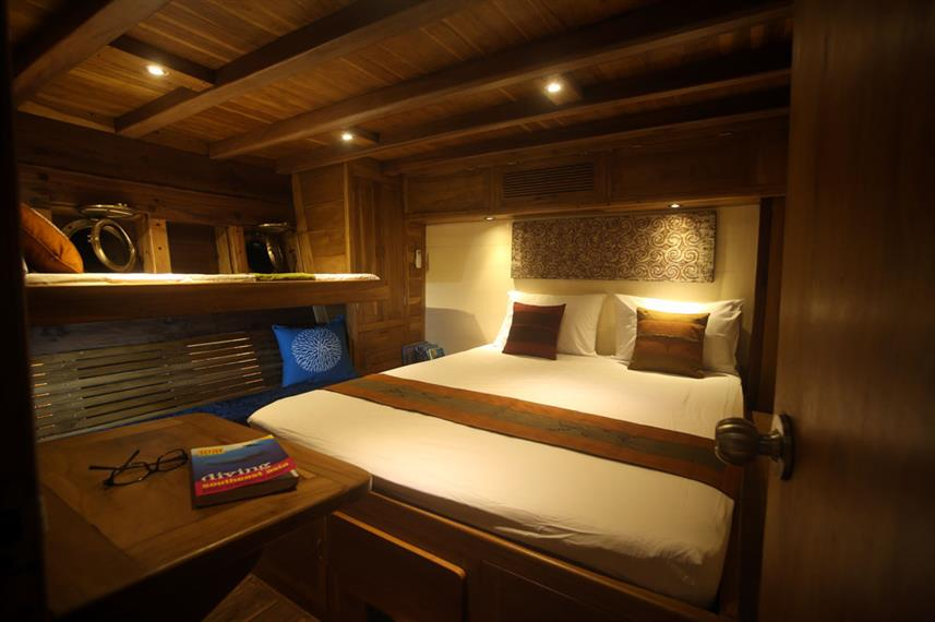Double Cabin - Mantra Live Aboard