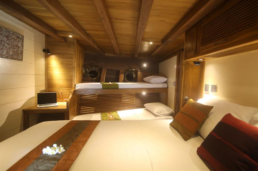 Cabins - Mantra Live Aboard
