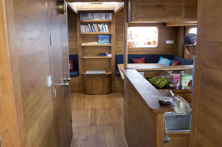 Bar en Lounge - Mantra Liveaboard