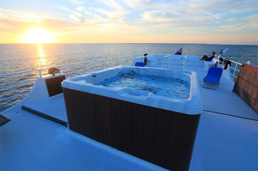 Hot Tub on the Avalon II Cuba