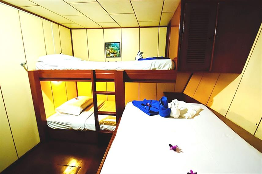 Cabine Triple  - Deep Andaman Queen