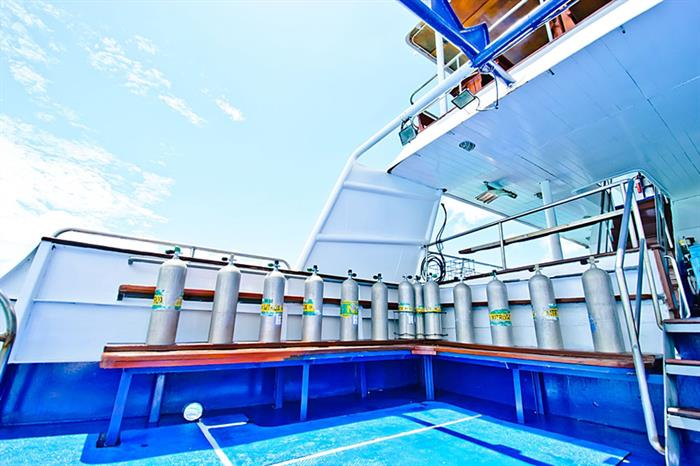 Plancia per immersioni - Deep Andaman Queen