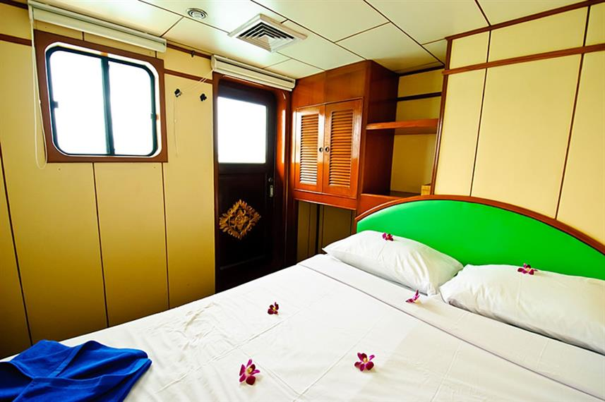 Cabine double - Deep Andaman Queen
