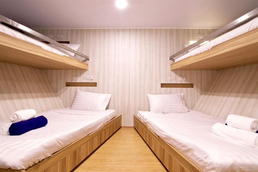 Quad Cabin - Deep Andaman Queen