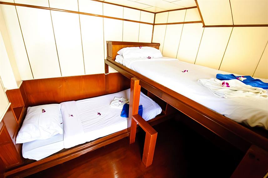 Cabine twin - Deep Andaman Queen