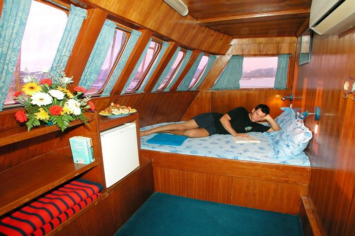 MV Marco Polo Liveaboard Double AC Cabin