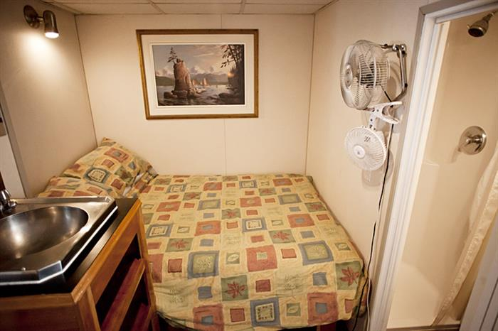Standard single stateroom - Nautilus Explorer