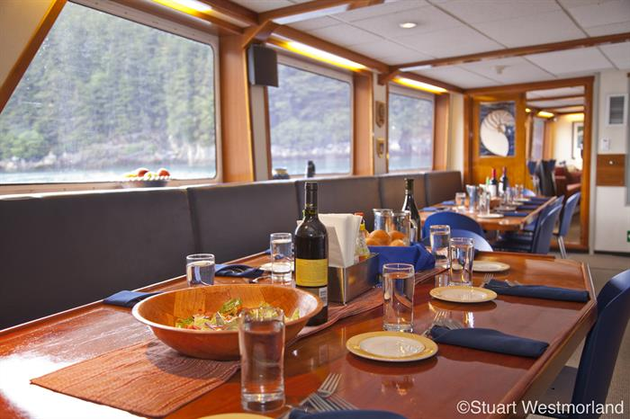 Nautilus Explorer Galley Dining Area