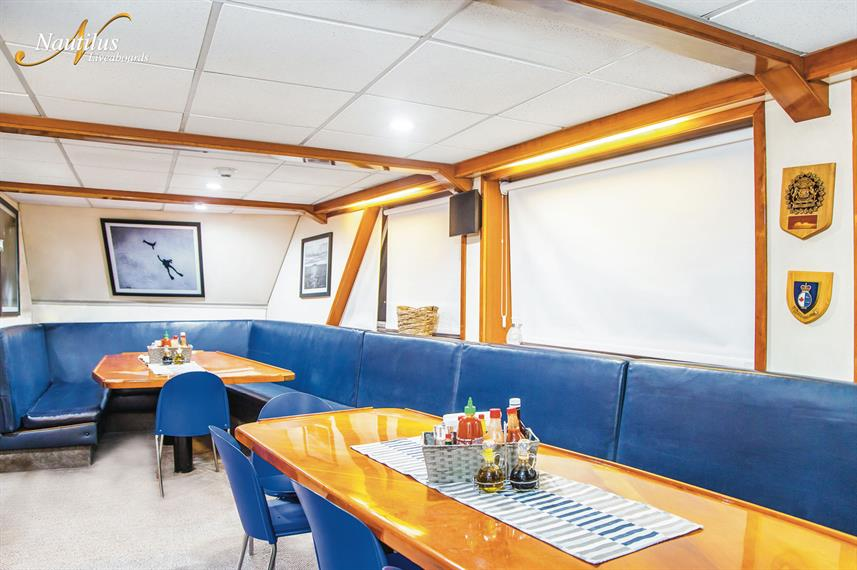 Dining Room - Nautilus Explorer
