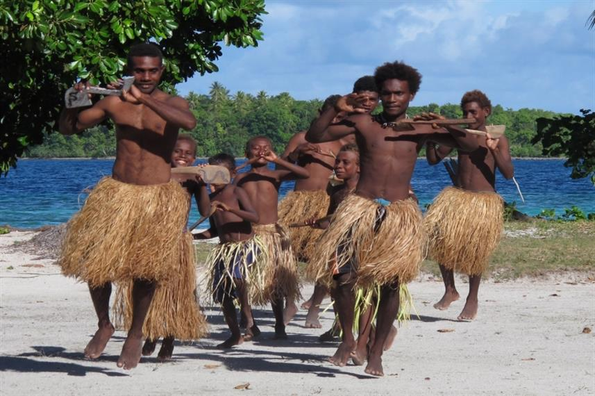 See traditional villagers in the Solomon Islands onboard Bilikiki Liveaboard