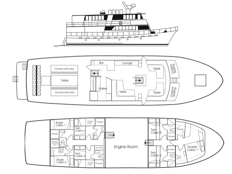 Febrina Deck Plan floorplan