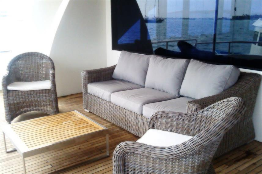 Outdoor Lounge - Adora Live Aboard