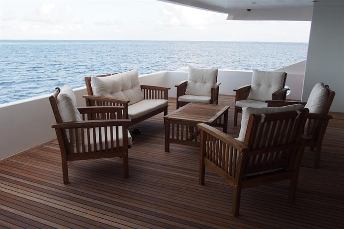 Outdoor Deck - Emperor Serenity Maldives