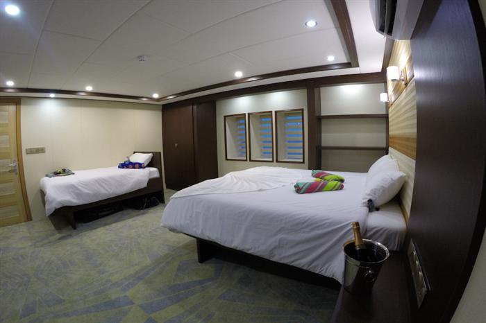 Main Deck Double Cabin - Emperor Serenity Maldives
