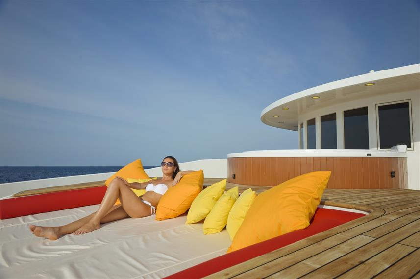 Relaxation on the Sun Deck - Blue Force One
