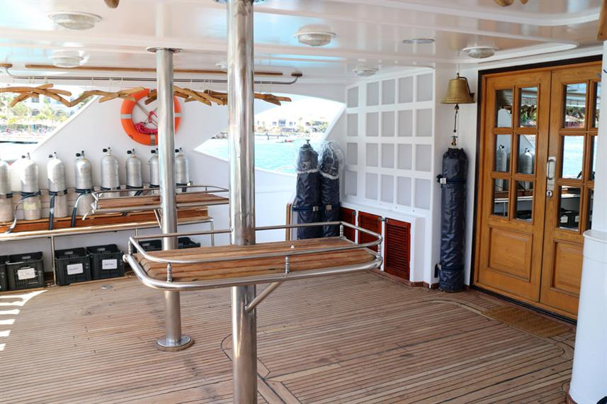 Dive deck - Seawolf Dominator