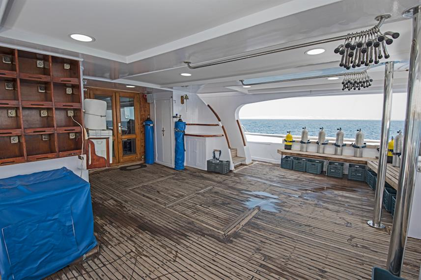 Spacious Dive Deck - Contessa Mia Egypt
