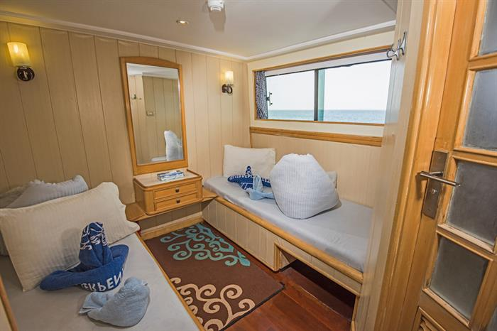 Upper Deck Twin Cabin - Contessa Mia Egypt