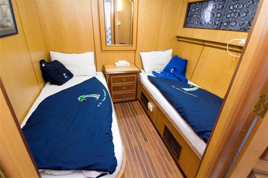 MY Dreams Liveaboard Red Sea Cabin