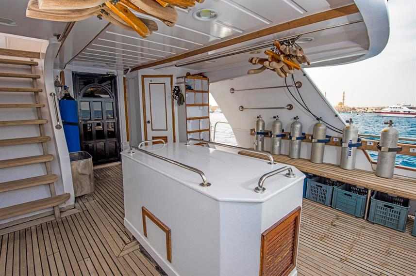 Duikdek - Dreams Liveaboard