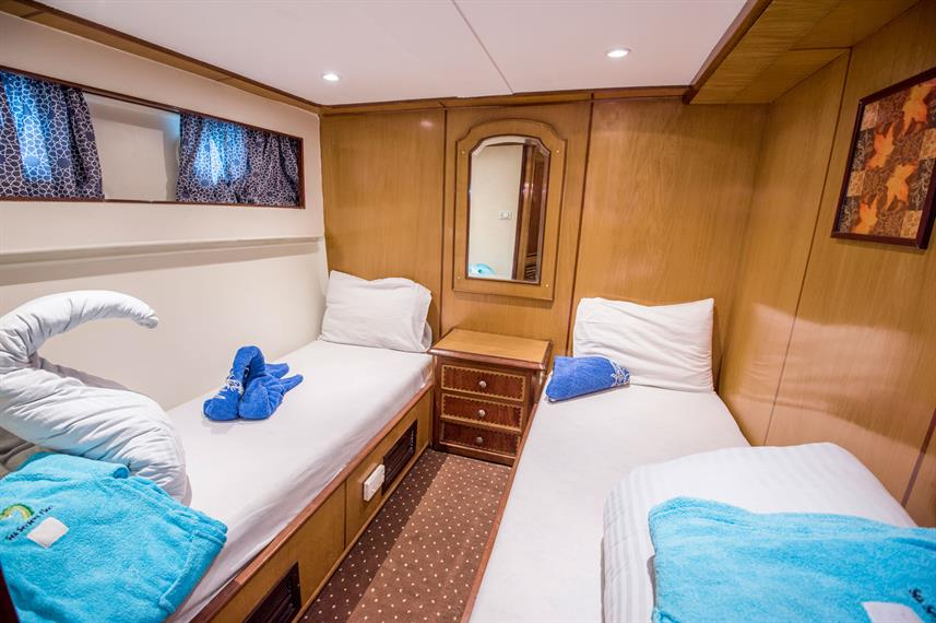 Twin Cabin - Dreams Live Aboard
