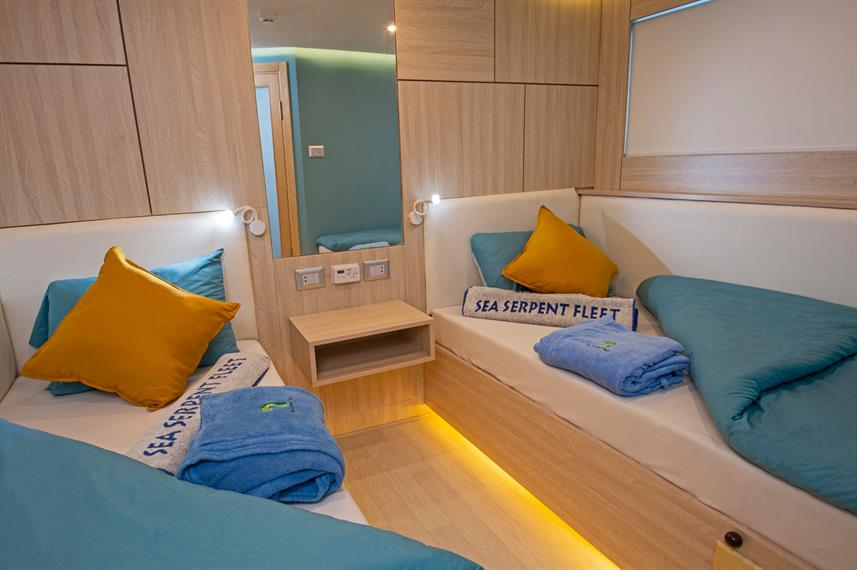Lower Deck Cabin - Sea Serpent Excellence