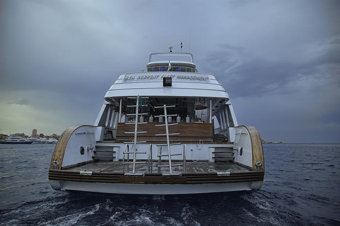 MY Grand Sea Serpent Liveaboard Red Sea Dive Platform