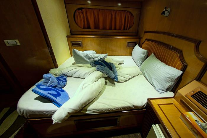MY Grand Sea Serpent Liveaboard Red Sea Double Cabin