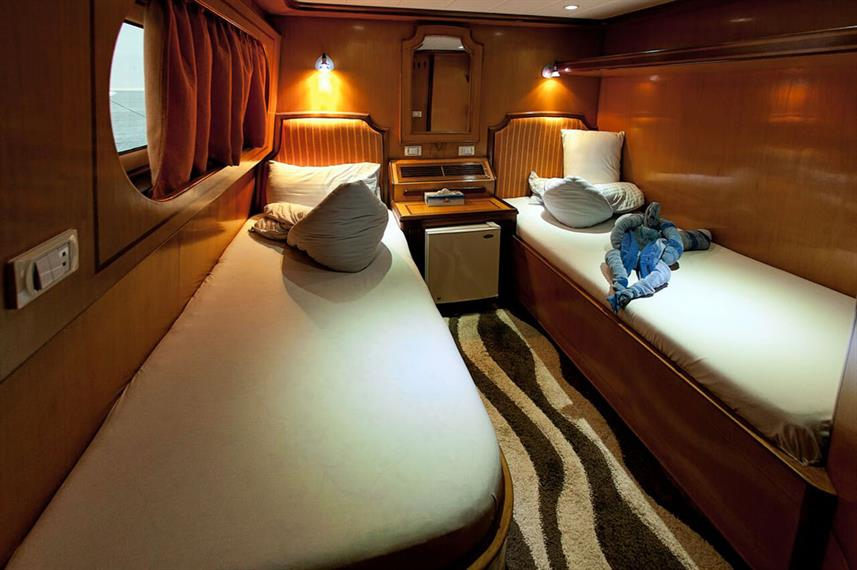 MY Grand Sea Serpent Liveaboard Red Sea Twin Cabin