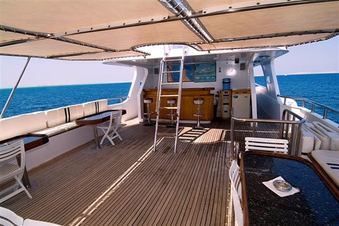 MY Miss Nouran Liveaboard Red Sea Sundeck