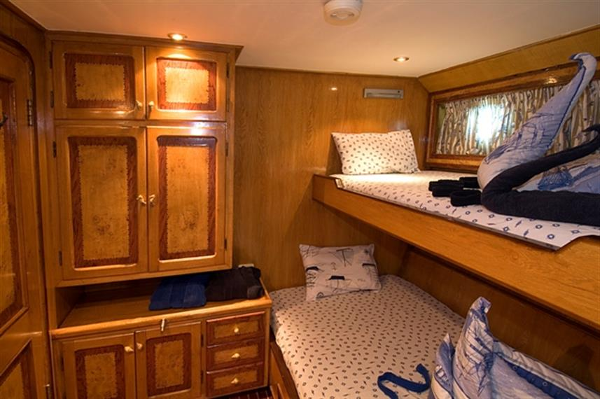 MY Miss Nouran Liveaboard Red Sea Bunk Cabin