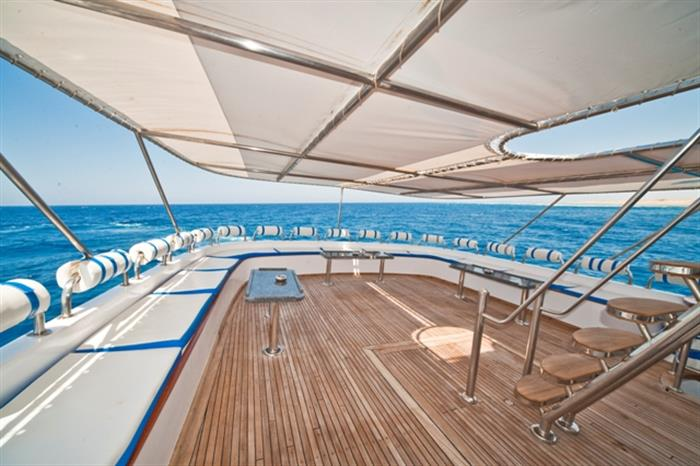 M/Y Obsession Liveaboard Red Sea Sun Deck