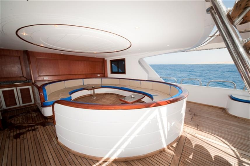 M/Y Obsession Liveaboard Red Sea Sundeck