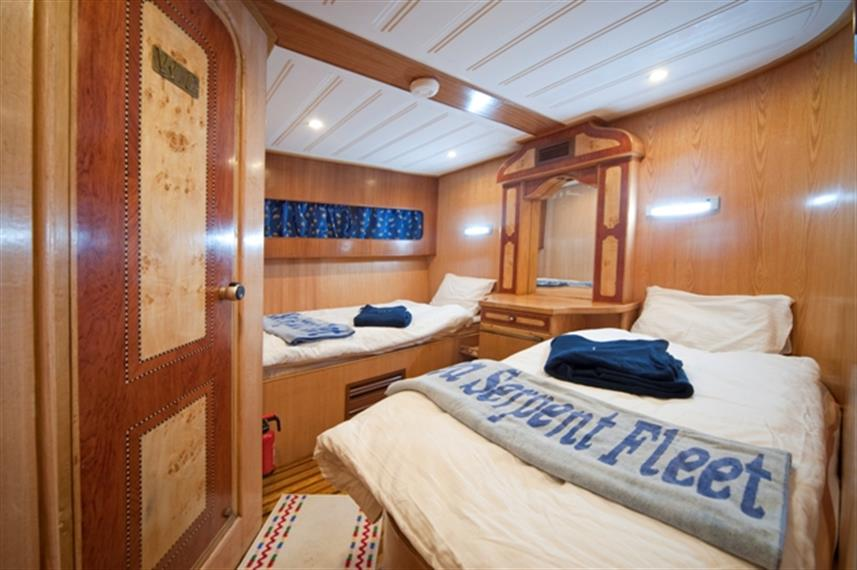 M/Y Obsession Liveaboard Red Sea Twin Cabin