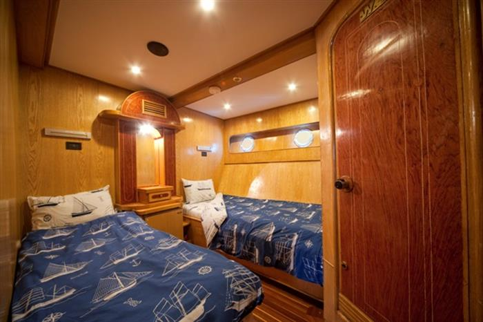 M/Y Sea Serpent Liveaboard Red Sea Double Cabin