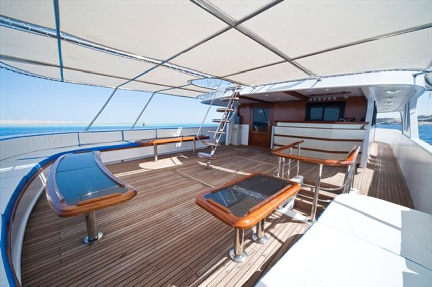 M/Y Sea Serpent Liveaboard Red Sea Dive Deck