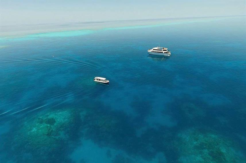 Beautiful clear waters - Rowley Shoals